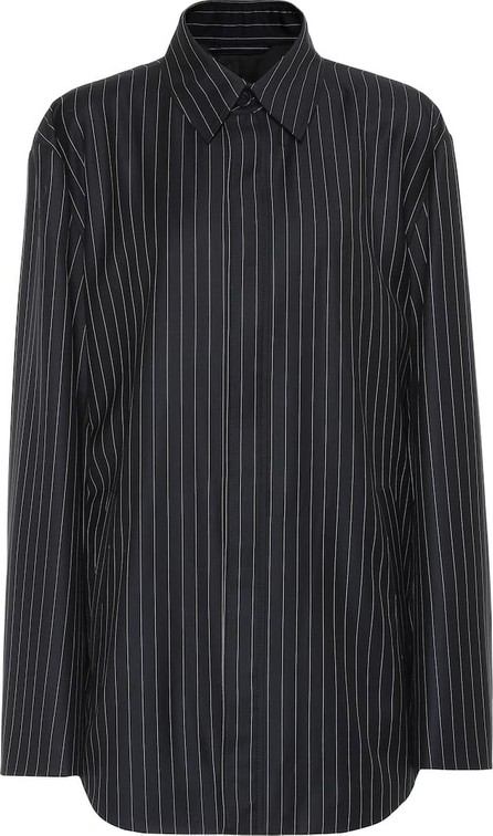 Balenciaga Striped wool and cashmere jacket