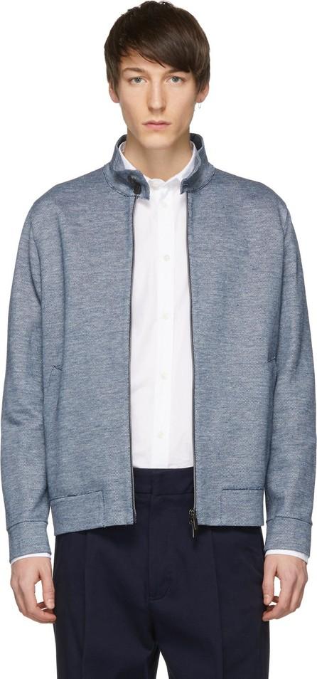 Harris Wharf London Blue Harrington Jacket