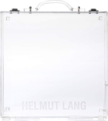 Helmut Lang Lucite transparent tote