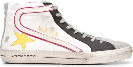 Golden Goose Deluxe Brand Slide high-top sneakers