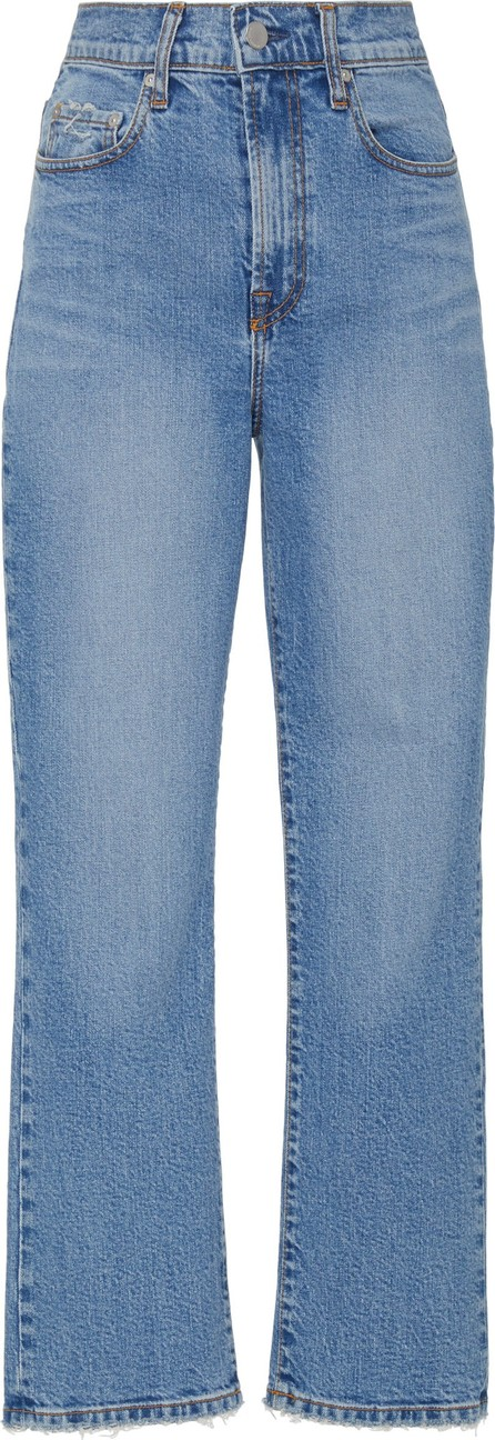 Nobody Denim Charlotte High-Rise Straight-Leg Jean