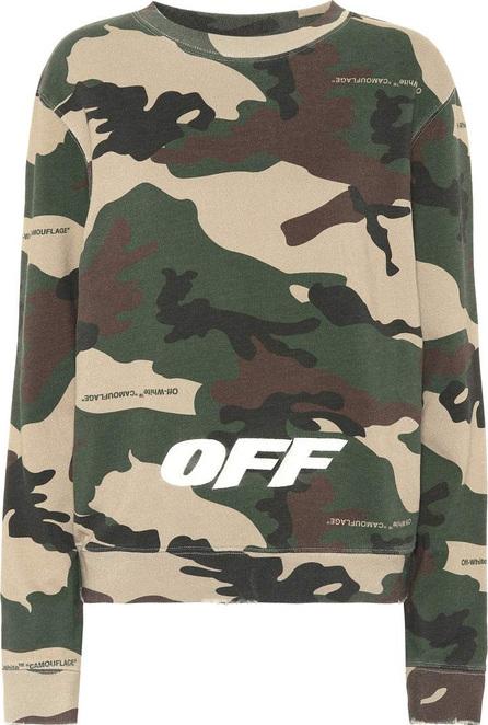 Off White Camouflage cotton sweatshirt