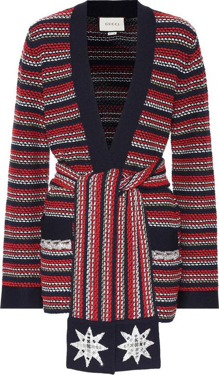 Gucci Striped bouclé jacket