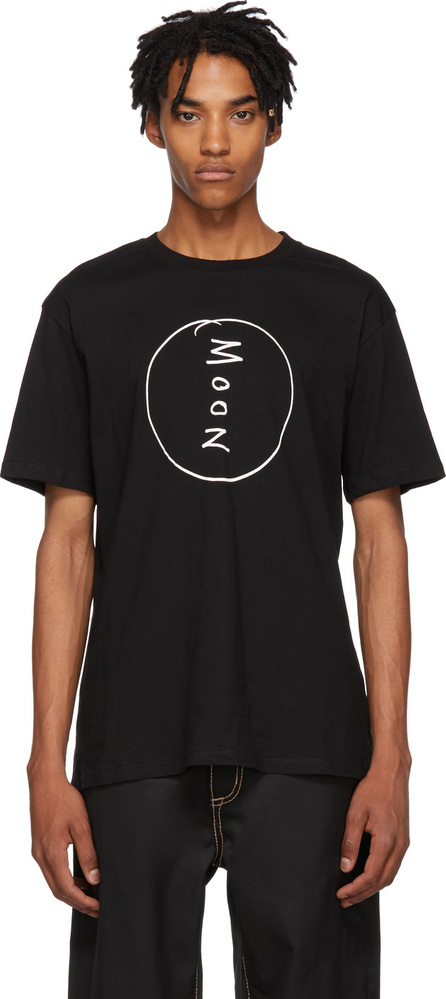 Double Rainbouu Black 'Moon' T-Shirt