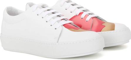 Acne Studios Adriana Doughnut printed leather sneakers