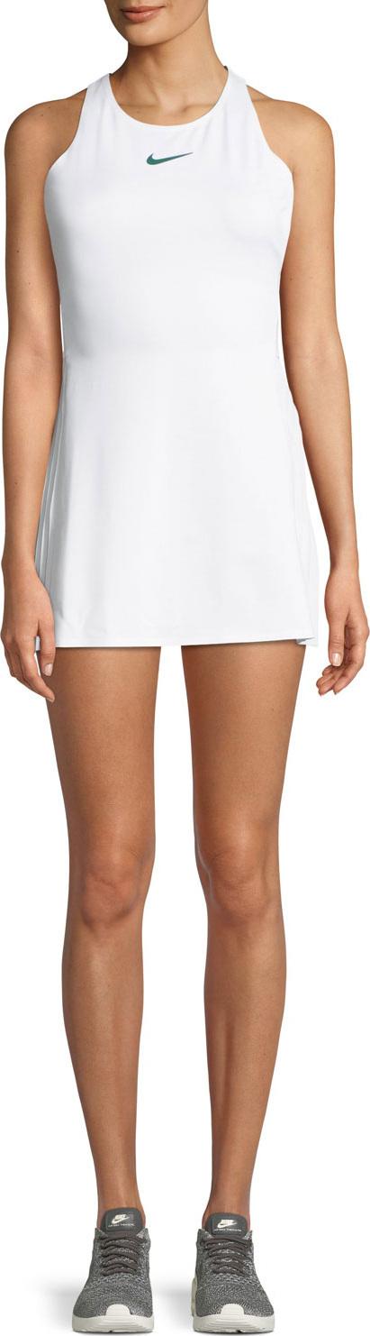 Nike Maria Pleated Cutout Tennis Dress