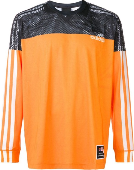 Adidas Originals by Alexander Wang Mesh detail T-shirt