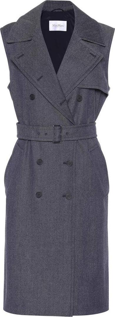 Max Mara Jene sleeveless coat