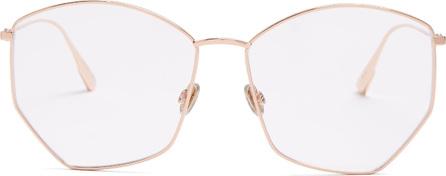 Dior DiorStellaire04 angular-frame glasses