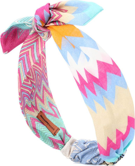 Missoni Striped cotton headband