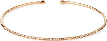 Etho Maria 18k Rose Gold & Brown Diamond Choker