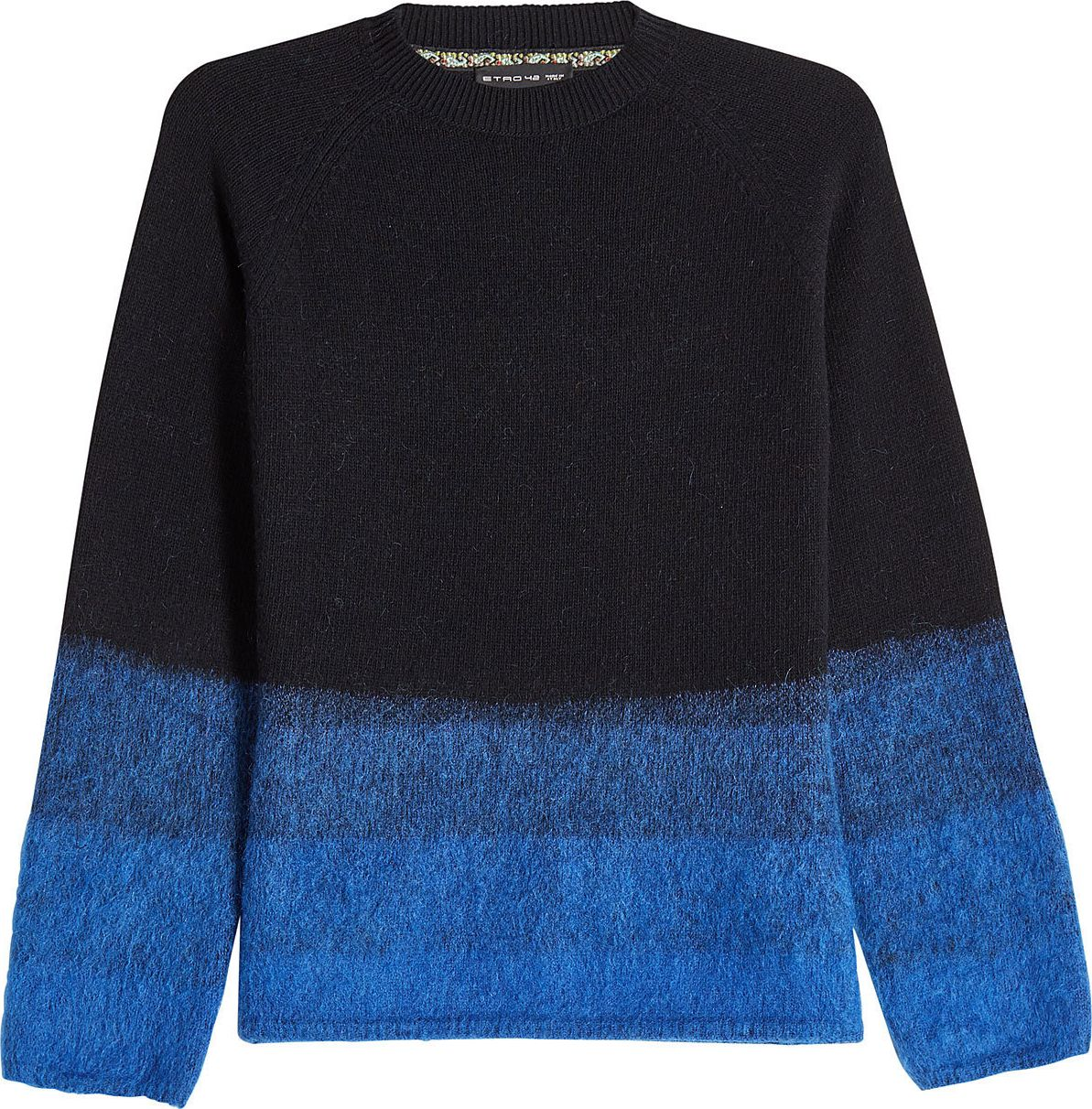 Etro - Pullover with Wool, Mohair and Cashmere