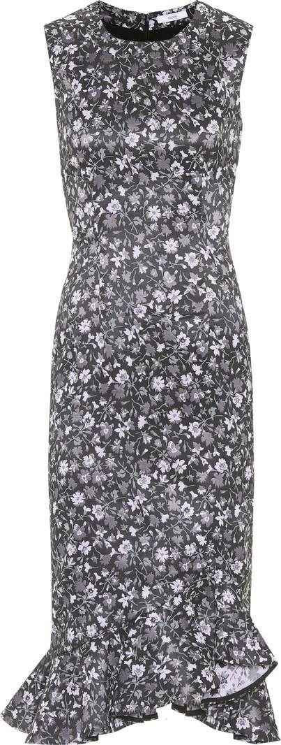 Erdem Louisa floral-printed dress