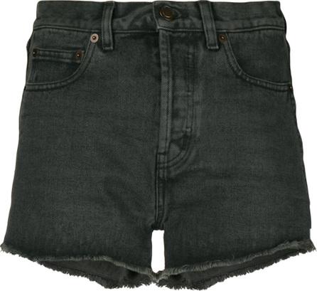 Saint Laurent Classic fitted denim shorts