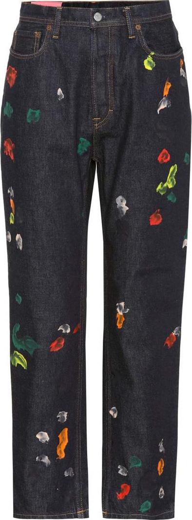 Acne Studios Blå Konst Log straight-leg jeans