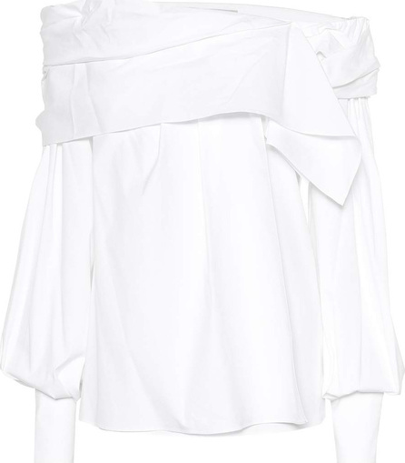 Carolina Herrera Off-the-shoulder cotton blouse