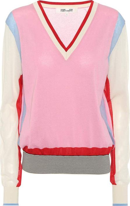 DIANE von FURSTENBERG Cotton-blend sweater