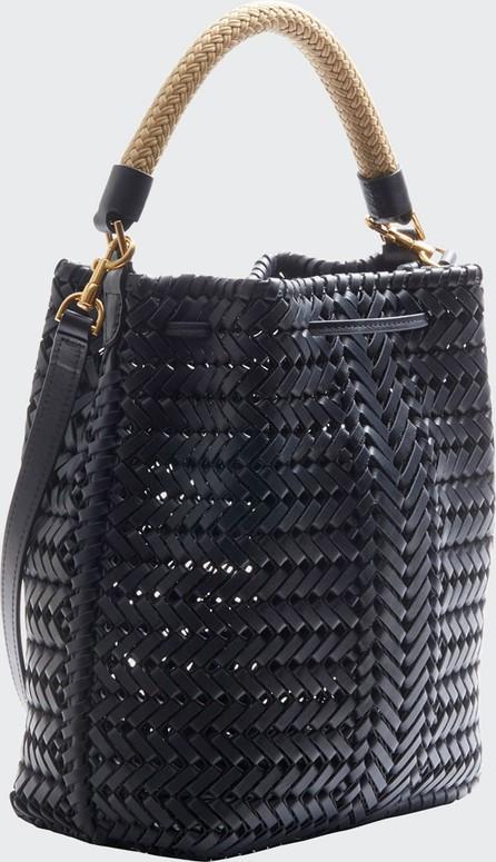 Anya Hindmarch The Neeson Small Leather Drawstring Bucket Bag