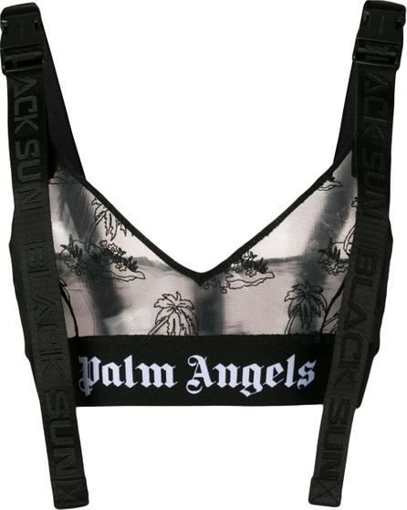 Palm Angels Island mesh bralette