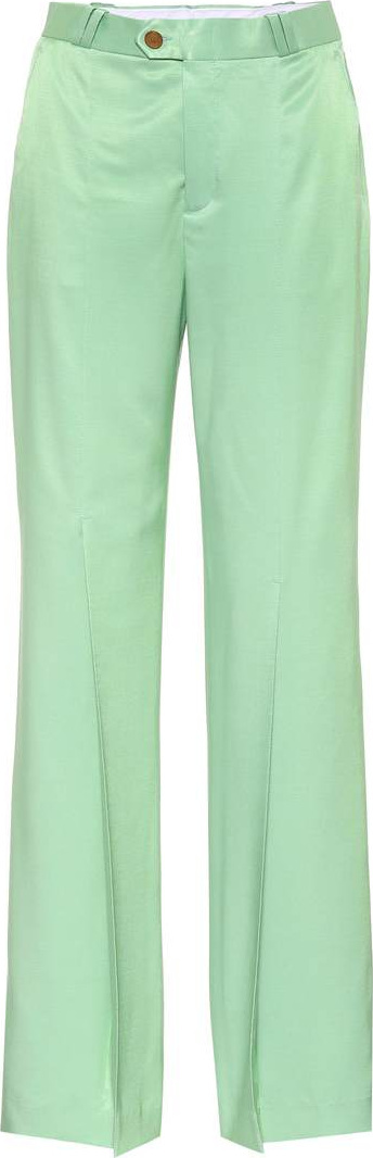 Acne Studios Tohny wool-blend wide-leg trousers