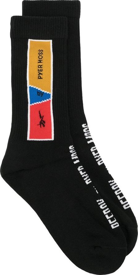 Reebok Contrast logo socks