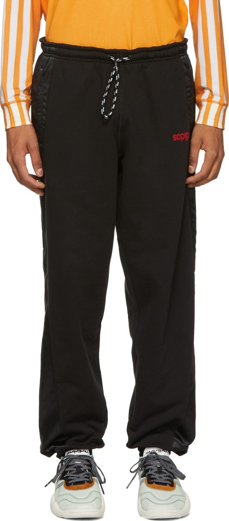 Adidas Originals by Alexander Wang Black Jogger Lounge Pants