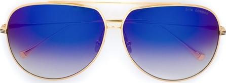 DITA aviator gradient sunglasses