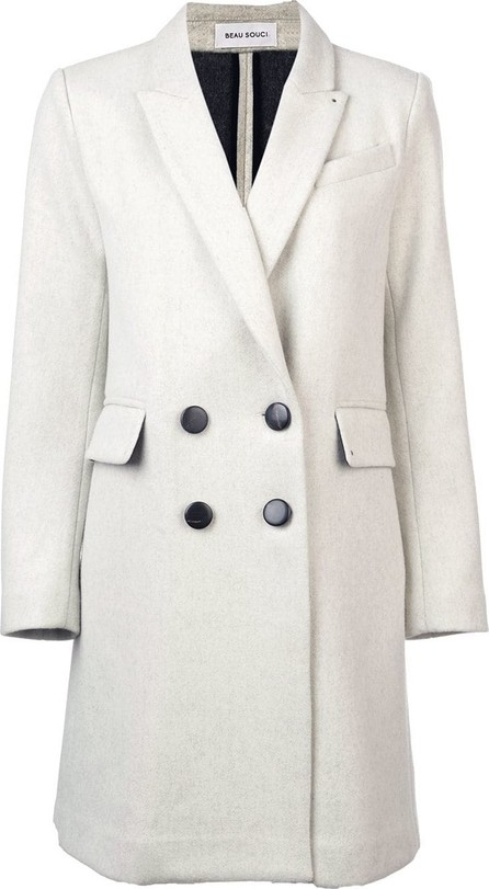 Beau Souci Officer double-breasted coat