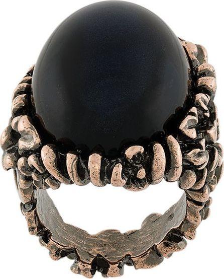 Salvatore Ferragamo oversized oval ring