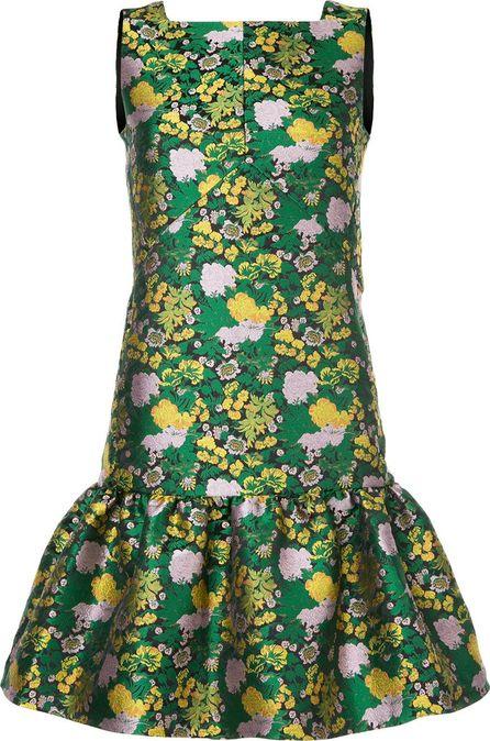 Erdem floral brocade dress