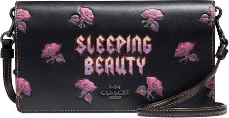 COACH 1941 DISNEY X COACH  Sleeping Beauty Fold-Over Crossbody Clutch Bag