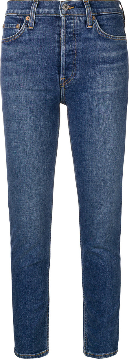 RE/DONE Skinny cropped jeans