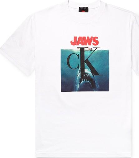 Calvin Klein 205W39NYC Logo-Print Cotton-Jersey T-Shirt