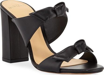 Alexandre Birman Nolita Block-Heel Mule Sandals