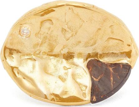 Patcharavipa Tiny Bond 18kt gold ring