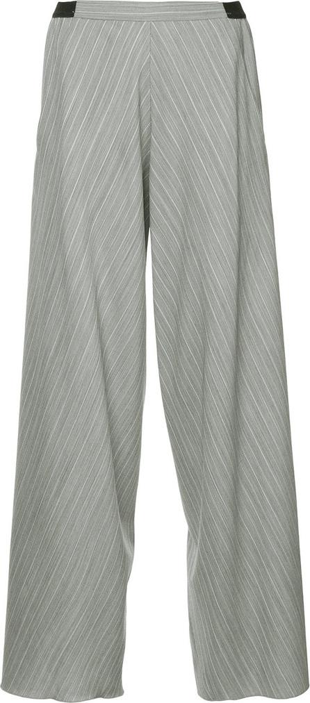 Christopher Esber Striped wide leg trousers
