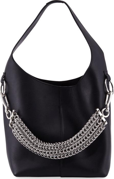 Alexander Wang Genesis Box Chain Extra Large Hobo Bag, Black