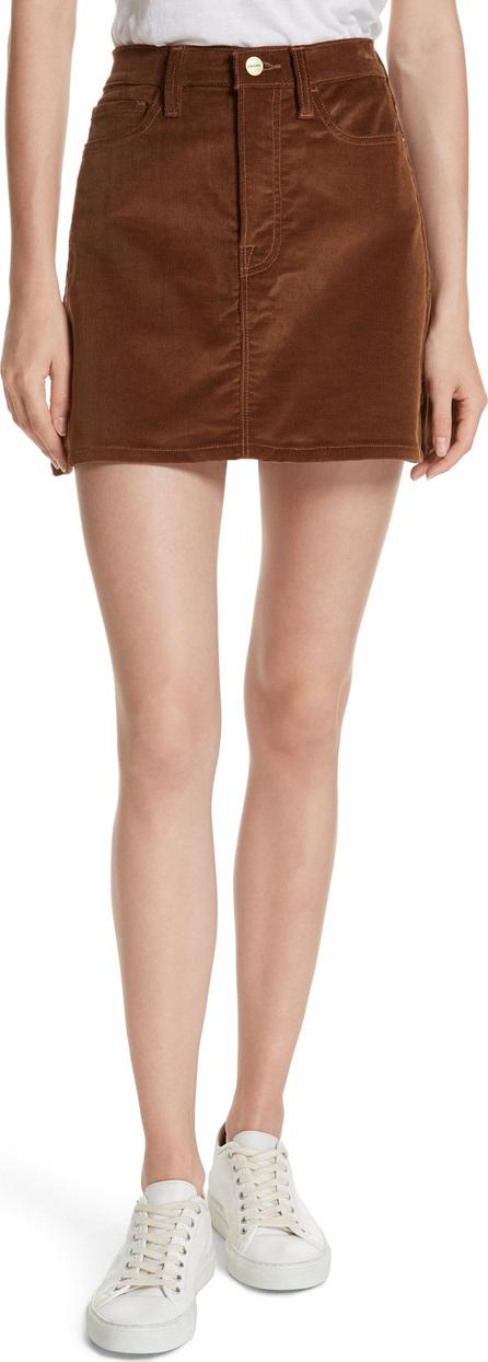 FRAME DENIM Le Mini Corduroy Skirt