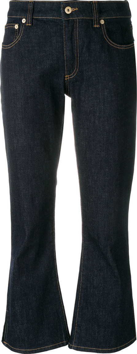 Carven Cropped flare jeans