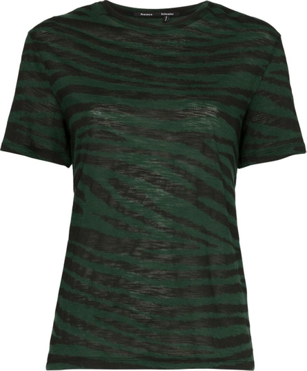 Proenza Schouler Tiger print cotton t-shirt