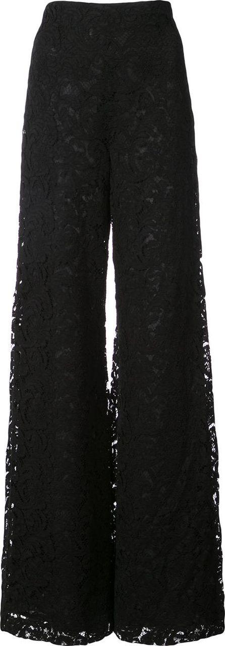 Adam Lippes lace palazzo trousers