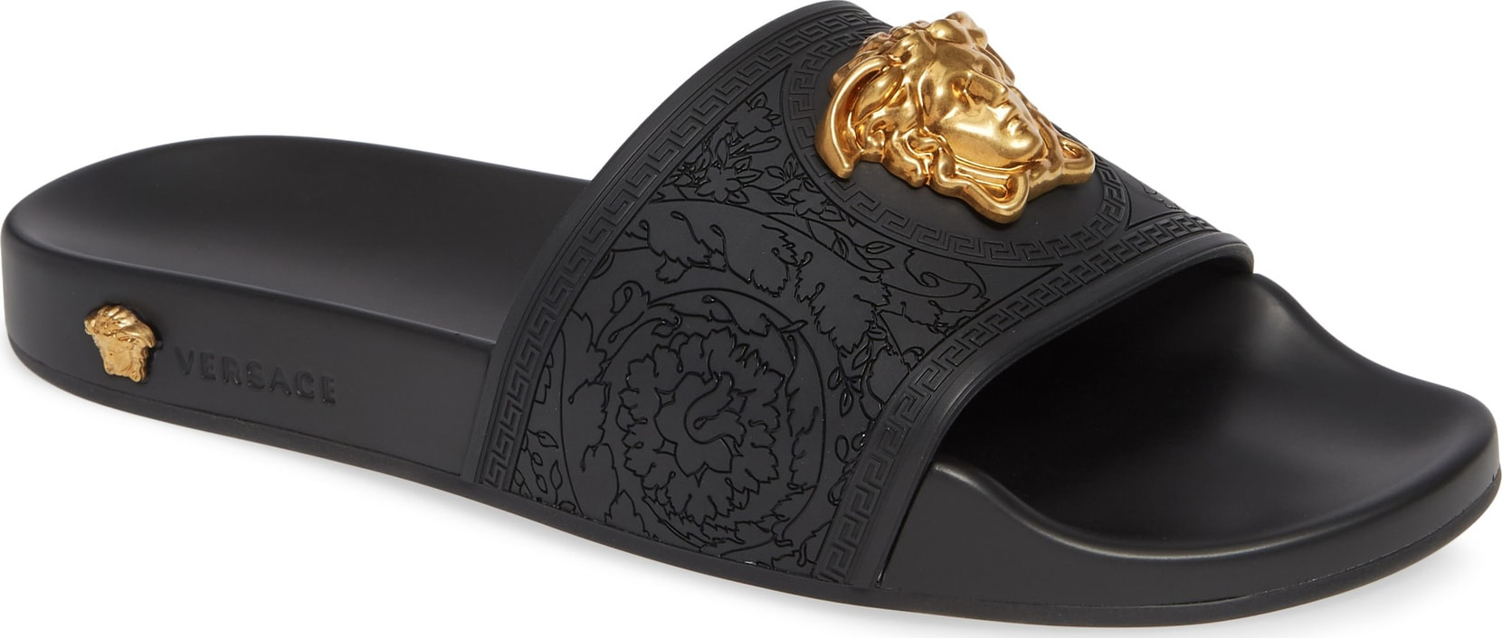 Versace Palazzo Medusa Slide Sandal - Luxed