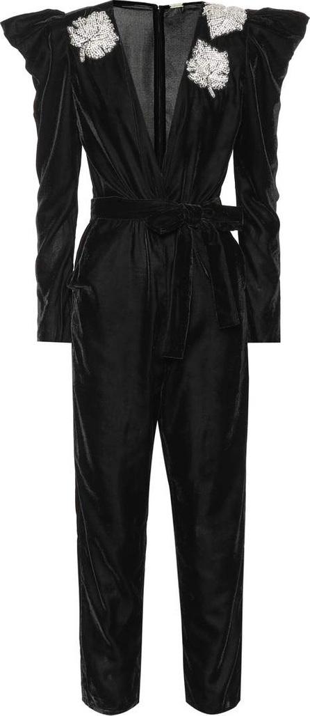 DODO BAR OR Embellished velvet jumpsuit