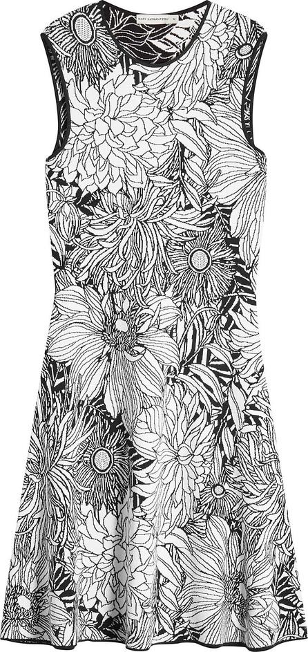 Mary Katrantzou Printed Jacquard Dress