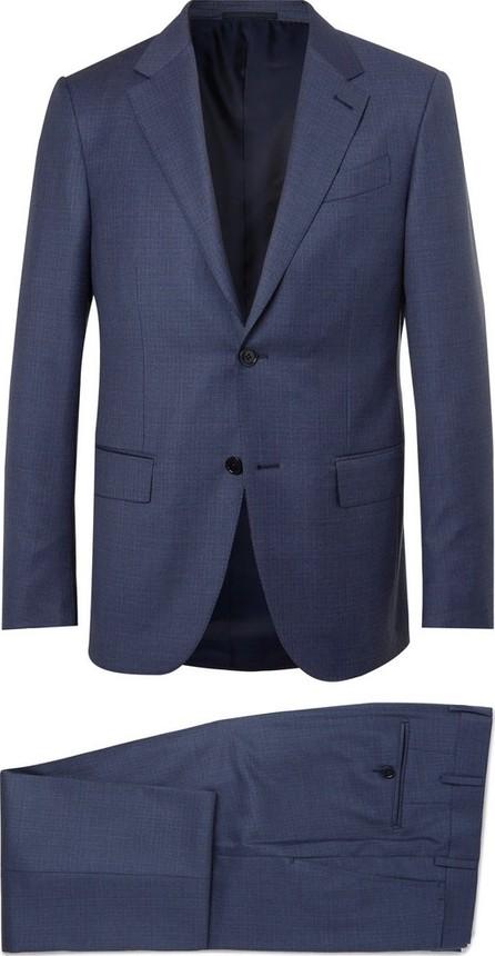 Ermenegildo Zegna Navy Milano Easy Slim-Fit Wool Suit