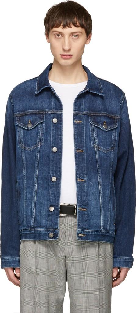 FRAME DENIM Blue Denim L'Homme Jacket
