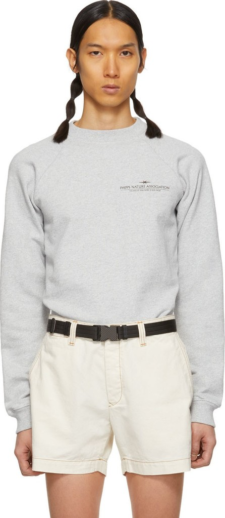 Phipps Grey Organic Nature Association Sweatshirt