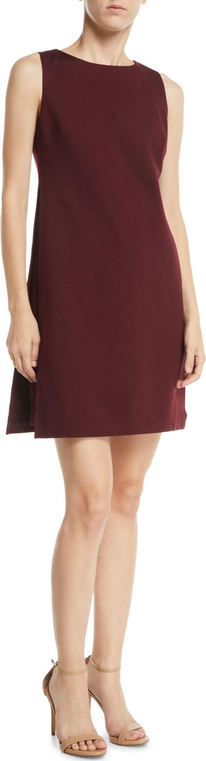 Trina Turk Brynne Sleeveless Draped Mini Dress