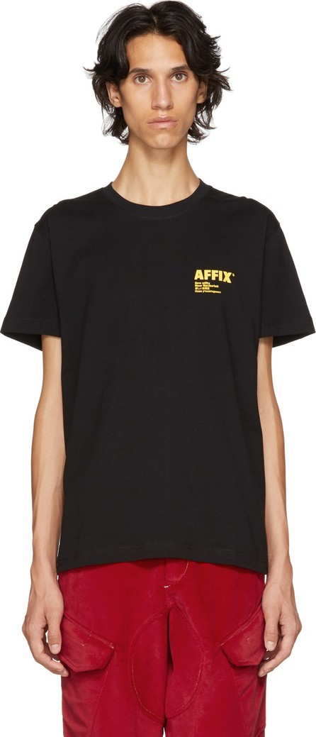 Affix Black Logo T-Shirt