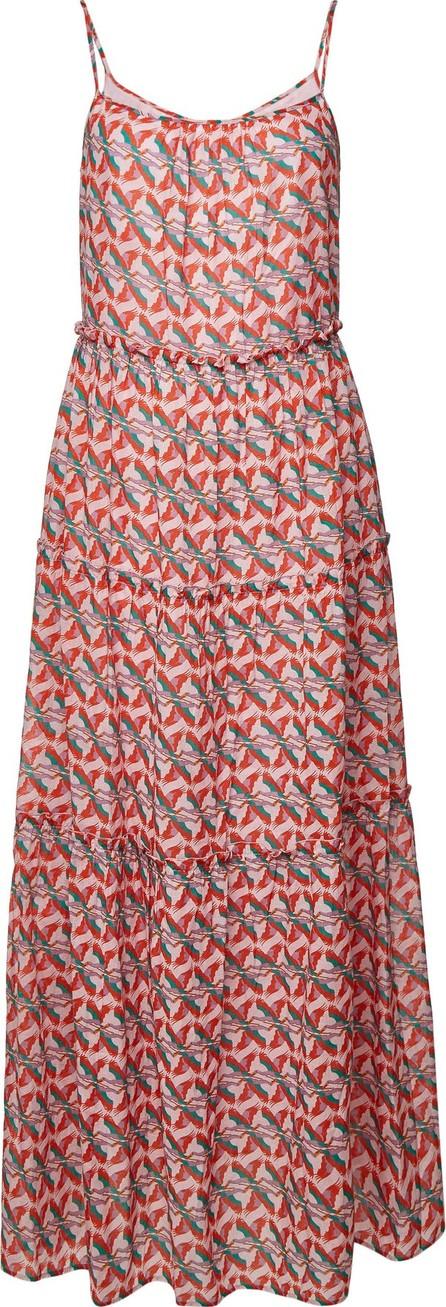 Aybi Dalia Printed Cotton Maxi Dress